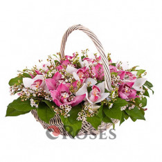 "Basket ""Pink Joy"""