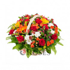 "Basket """"Bright Impressions"""""